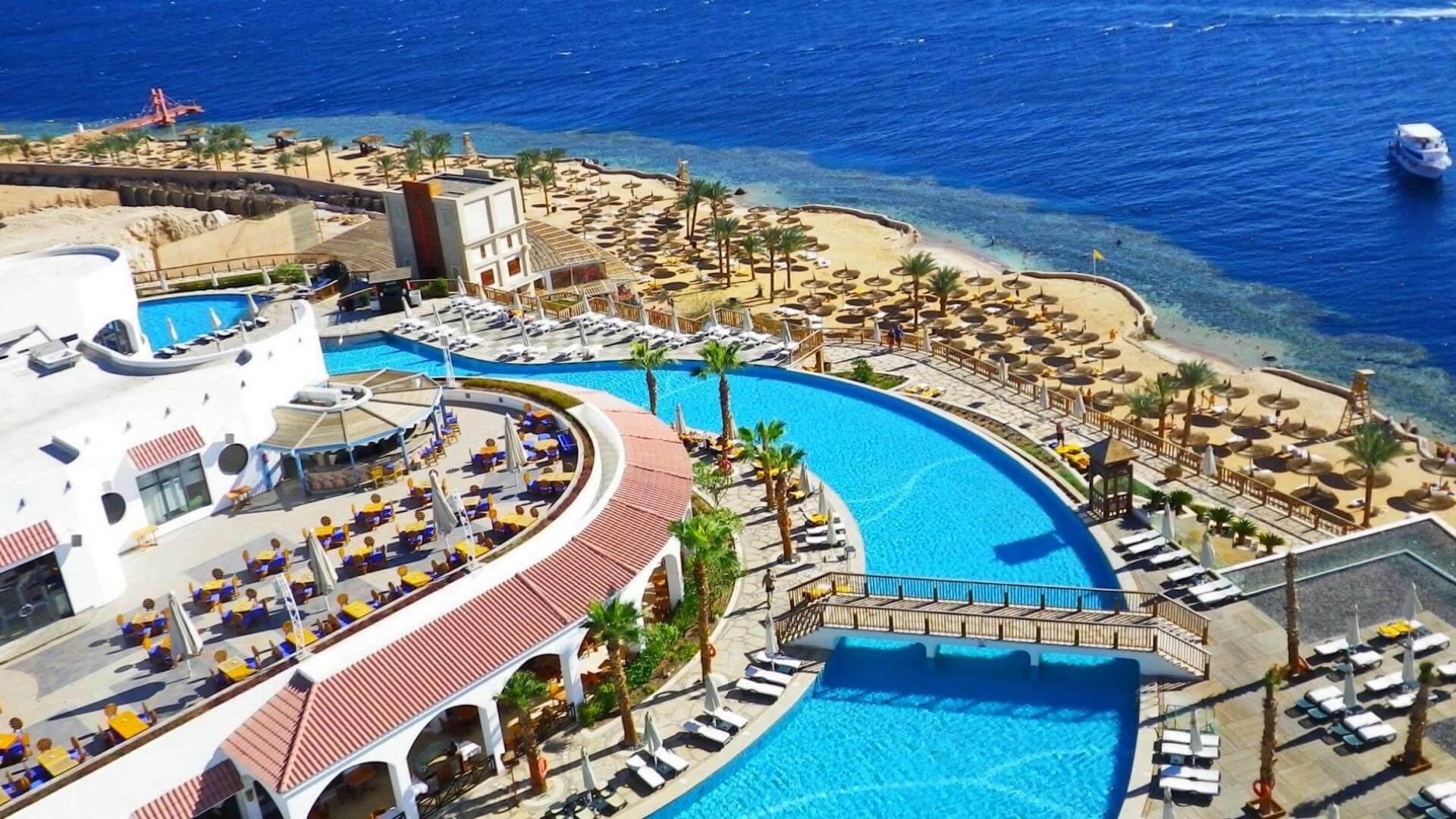 5-звездочный отель Reef Oasis Blue Bay Resort в Шарм-эль-Шейхе