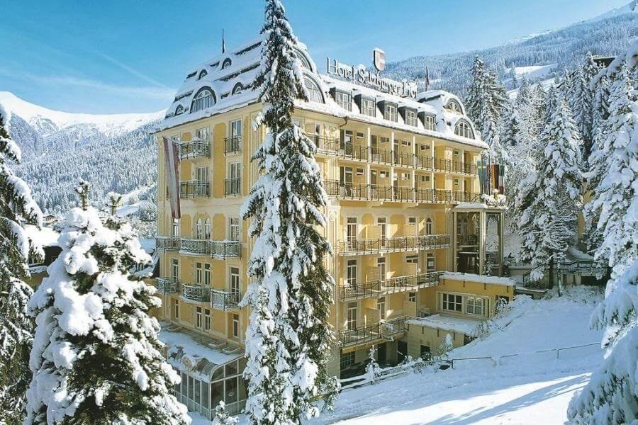 Фото отеля Salzburgerhof 4* в Бад-Гаштайне