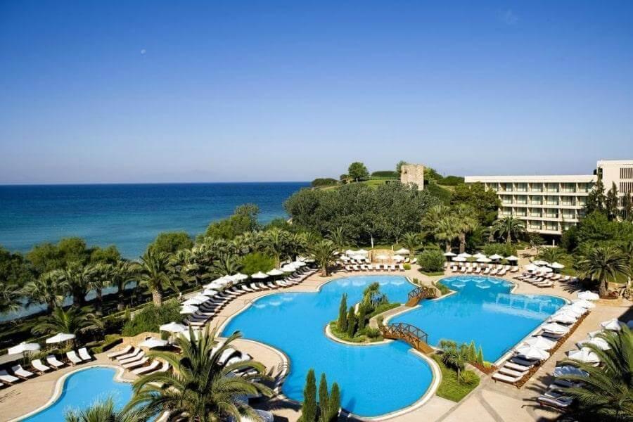 Фото 5-звездочного отеля Sani Beach Халкидики-Кассандре, Греция