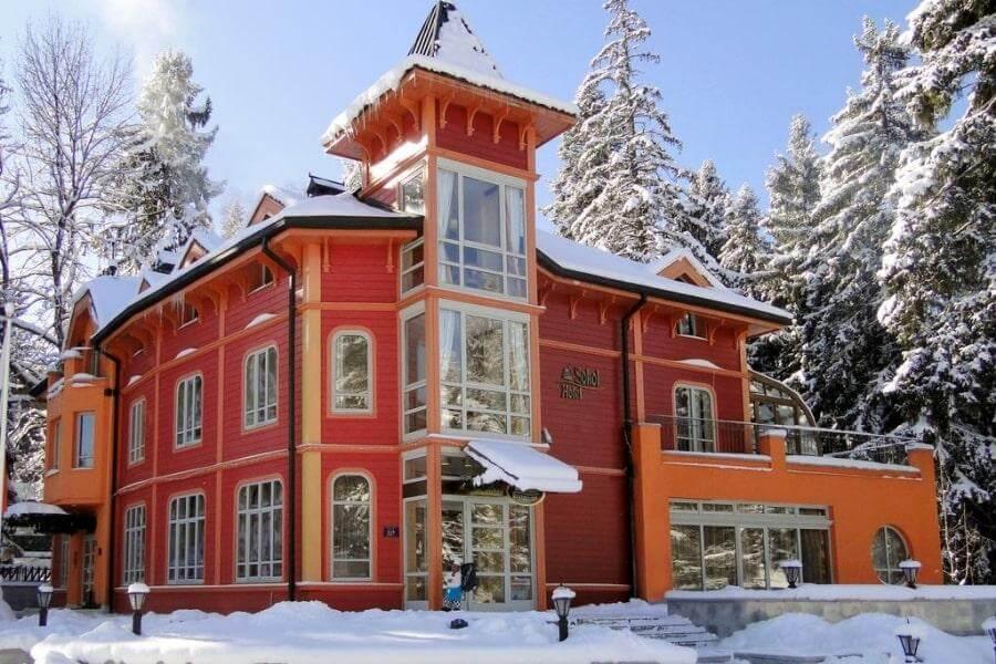 3-звездочный отель Sokol в Боровце, Болгария