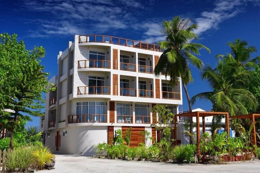Фото 4-звездочного отеля Velana Blu GUEST HOUSE на Мальдивах