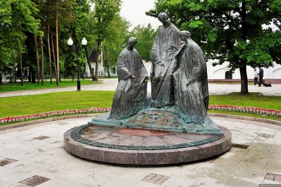 Памятник Святой Троицы