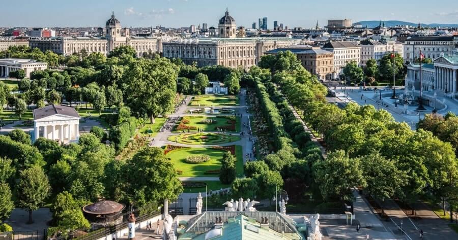 Фото столицы Австрии