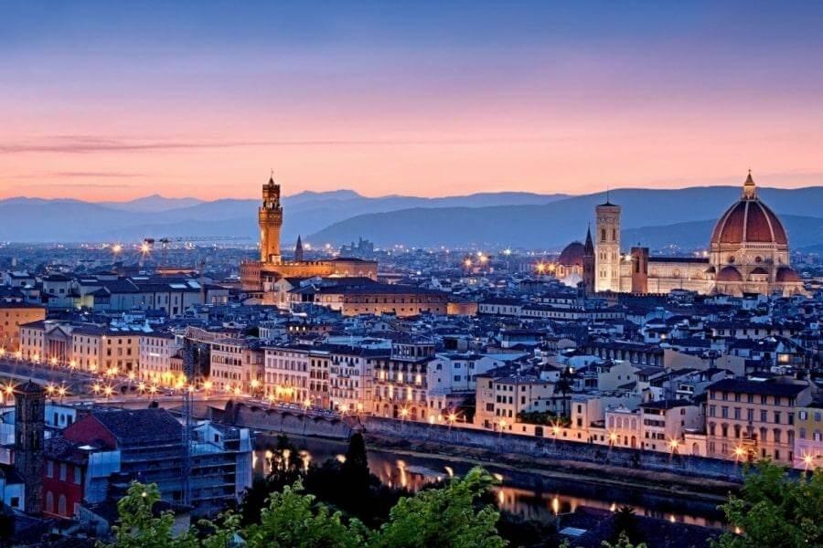 Вечерняя Италия