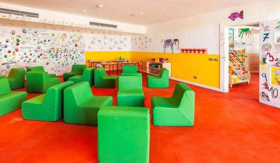 Инфраструктура для детей в отеле The Cleopatra Luxury Resort Collection 5* в Шарме