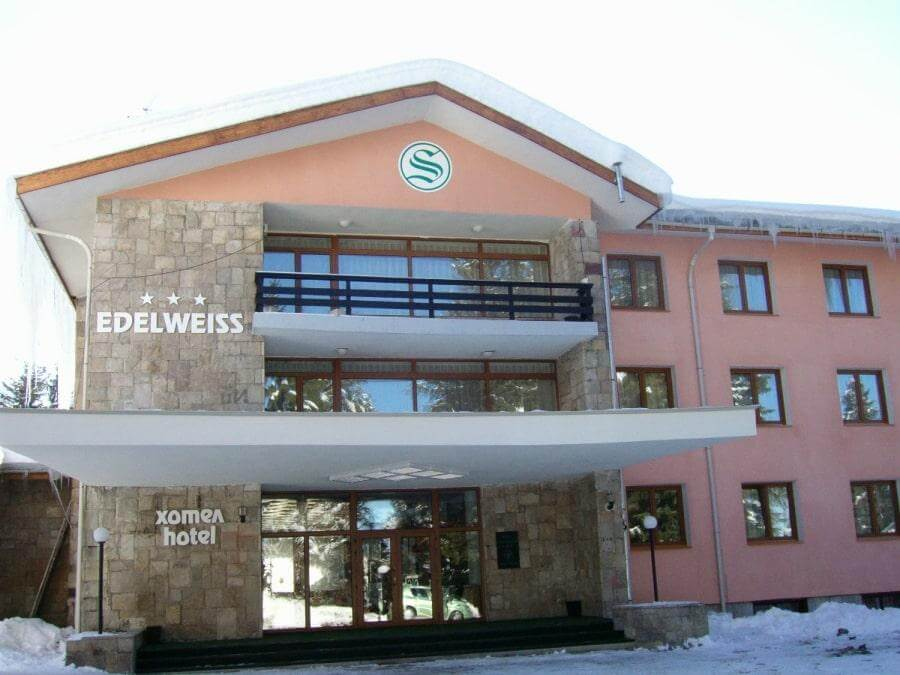 Фото отеля Edelweiss 3* в Боровце