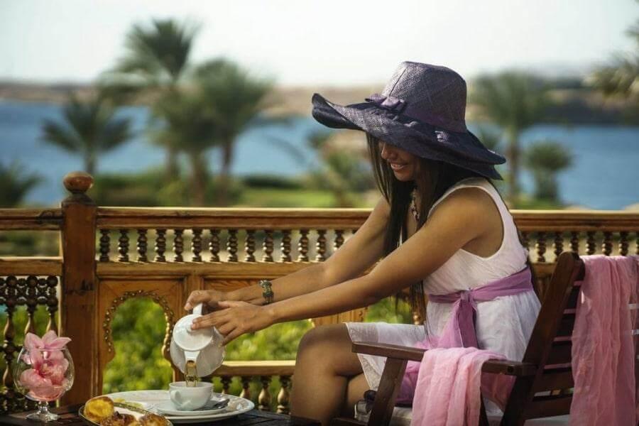 Чаепитие в отеле Movenpick Sharm 5*