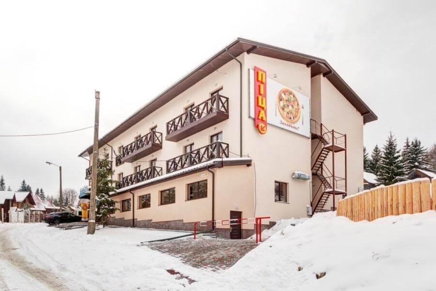 Здание отеля Skilandhouse Яблуница 3* в Карпатах