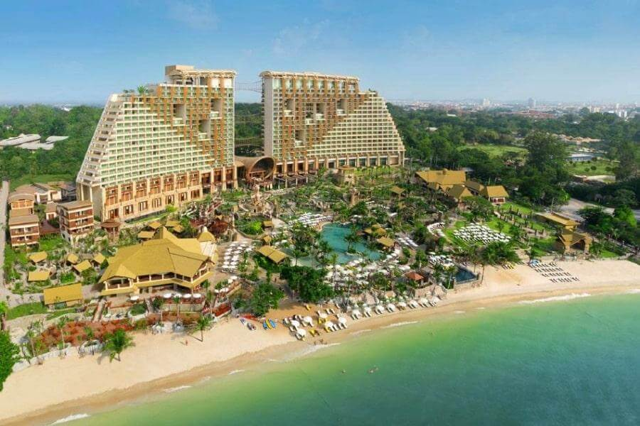 Фото отеля Centara Grand Mirage Beach Resort Pattaya 5* в Паттайе