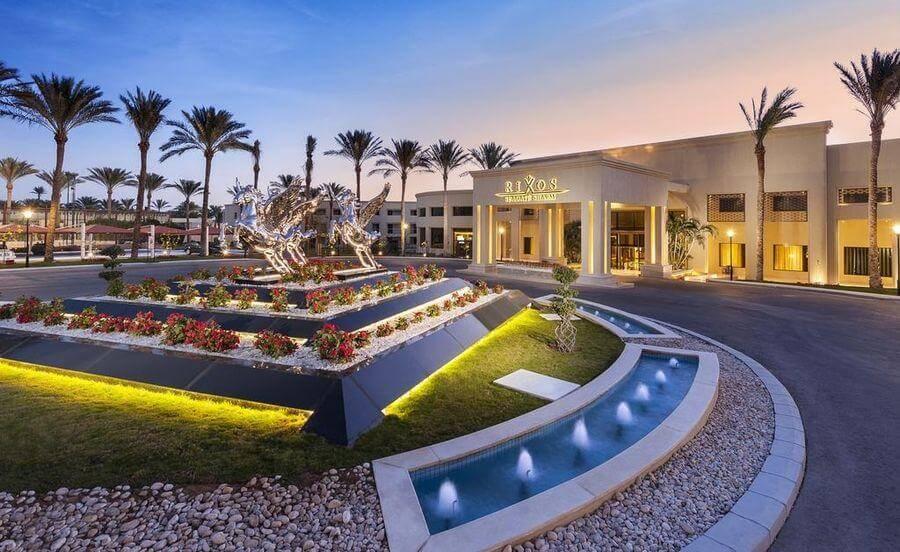 Вход в отель Rixos Sharm El Sheikh 5*