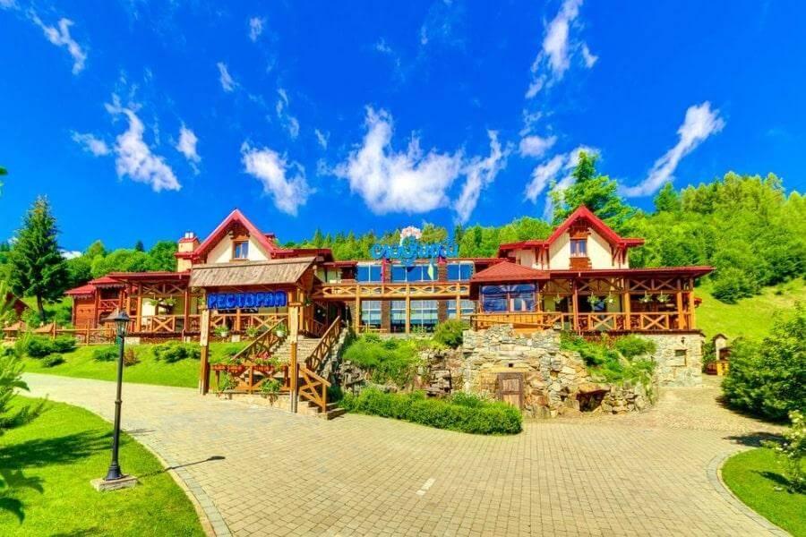 Фото отеля Славянка 3* в Славском, Карпаты