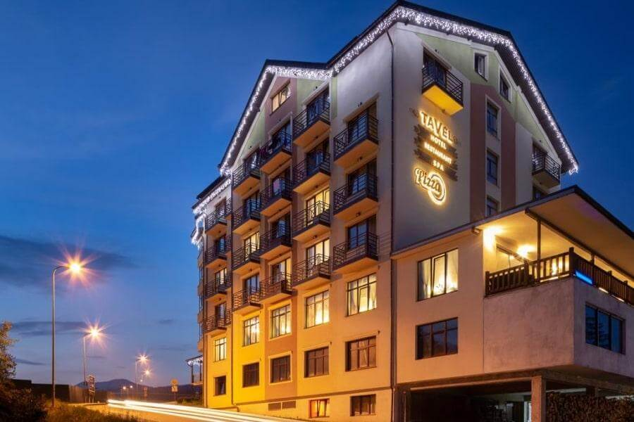 Отель Тавель 4* на Буковеле
