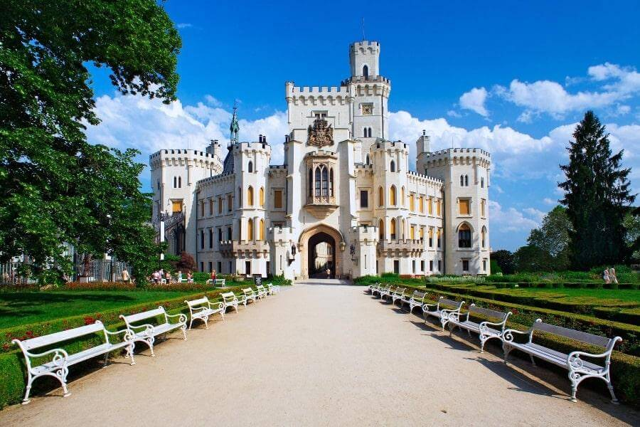Замок в Чешском Крумлове