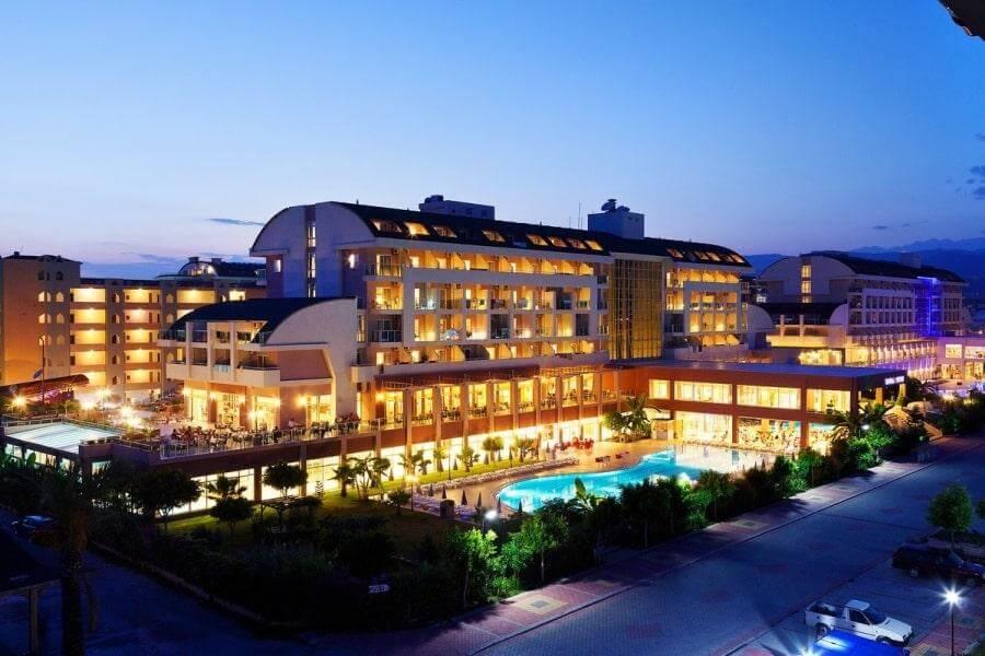 Telatiye Resort Hotel 5 Alaniya Turciya Ot 300 5 Evro Za 7 Nochej